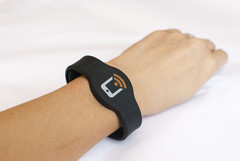 NFC Silicone Adjustable Wristband